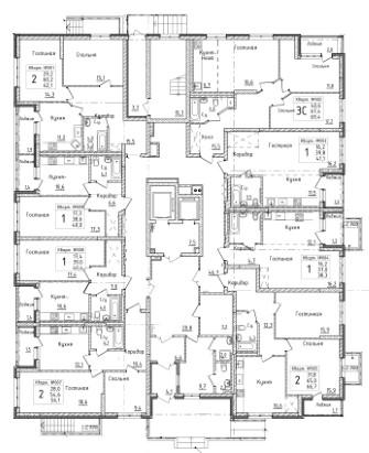 Первый дом 1 этаж
